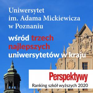 Wśród najlepszych polskich uczelni znajduje się UAM!