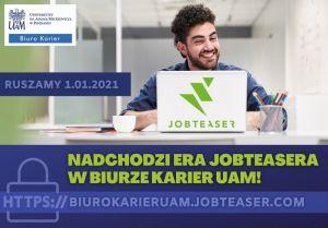 Twoja kariera zaczyna się od JobTeasera