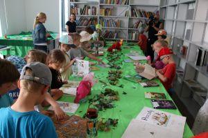 Kubuś Puchatek na otwarciu Pracowni Kolekcji Literatury dla Dzieci