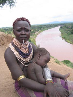 Etiopia. Wśród plemion w dolinie rzeki Omo