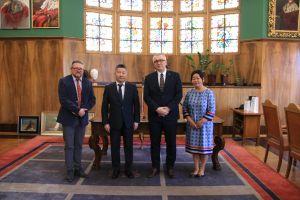 Spotkanie z ambasadorem Mongolii
