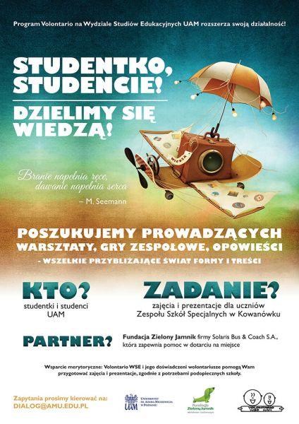 Plakat Volontario