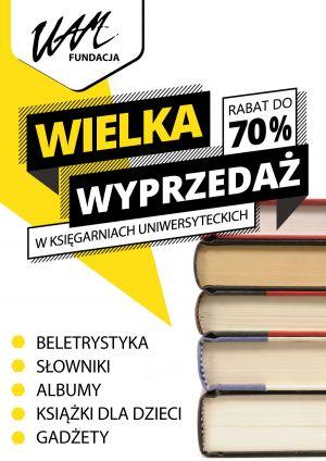 Wielka obniżka cen książek
