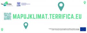 Mapuj klimat w Poznaniu i aglomeracji