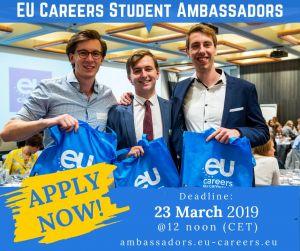 Zostań Ambasadorem Karier Unii Europejskiej na UAM