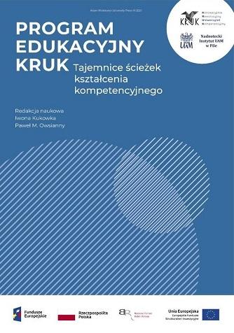 """Okładka e-booka """"Program Edukacyjny KRUK. Tajemnice ścieżek kształcenia kompetencyjnego"""""""