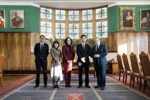 Delegacja z Kyushu Institute of Technology z Japonii na UAM