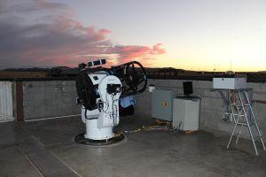 Pięć teleskopów UAM stanie w Parku Ciemnego Nieba