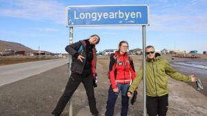 Studenci UAM na Spitsbergenie
