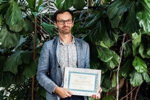 Absolwent UAM z Nagrodą im. dr Marcina Antczaka