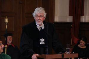 Prof. Reinhard Lührmann doktorem honorowym UAM