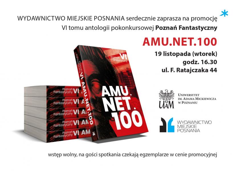 Promocja książki amu.net.100