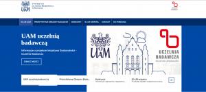 Uczelnia Badawcza - odwiedź nową stronę