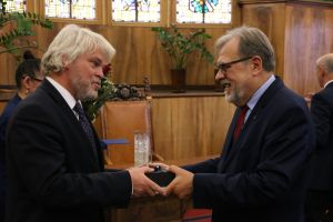 Prof. Michael Düring laureatem Medalu Za Zasługi dla UAM