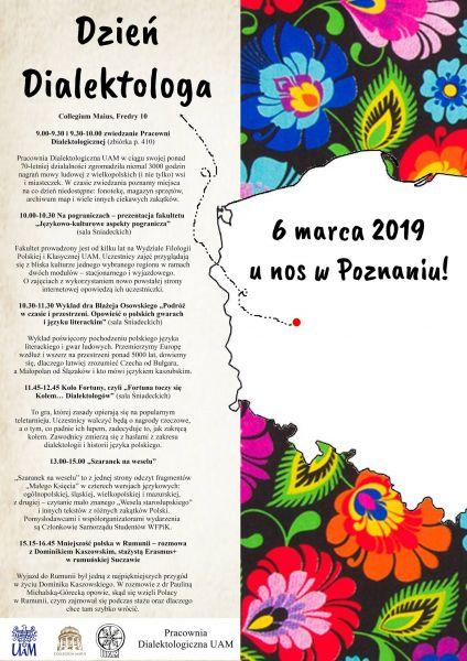 Dzień Dialektologa plakat