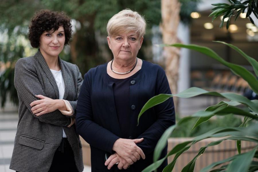 prof. Goździecka-Józefiak i dr Warowicka