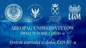 Areopag Uniwersytetów - świat w dobie COVID-u