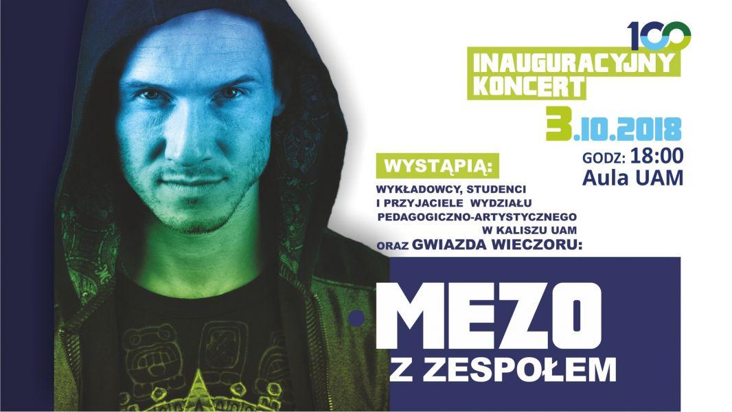 Plakat koncertu Mezo