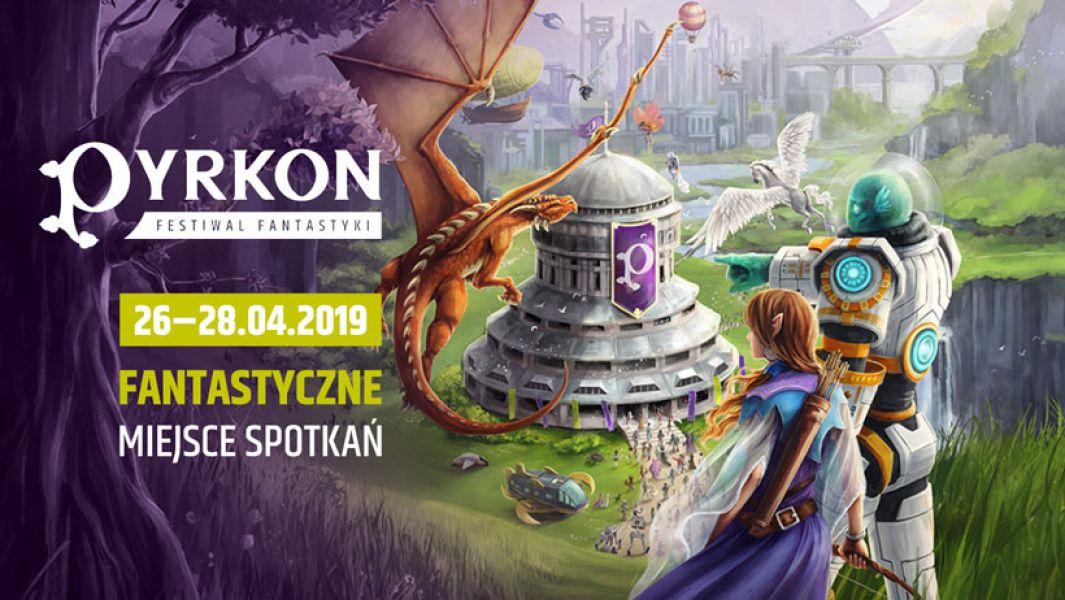 Plakat Pyrkonu 2019