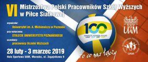 VI Mistrzostwa Polski Pracowników Szkół Wyższych w piłce siatkowej o Puchar Rektora UAM