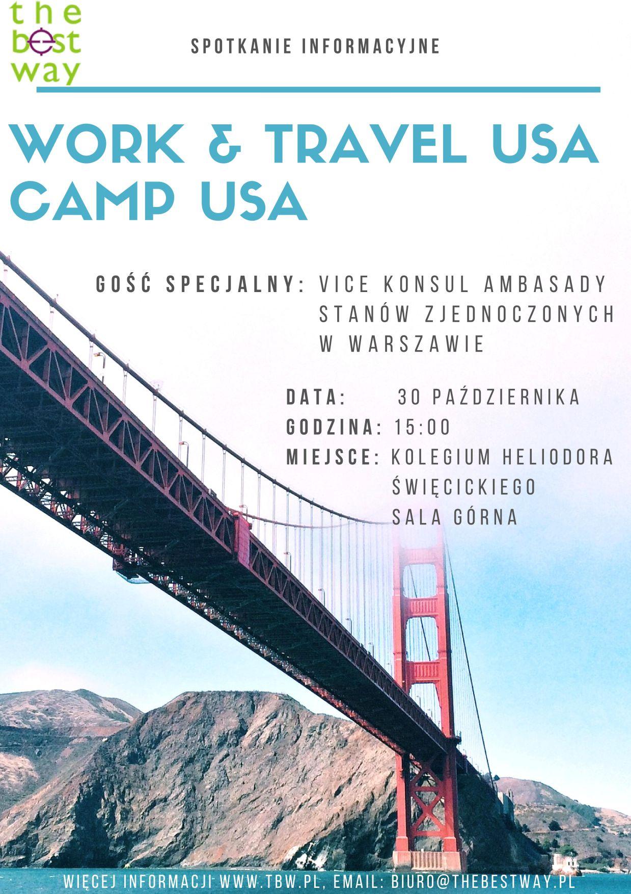 Camp USA, Work and Travel USA