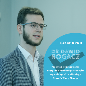 Grant Narodowego Programu Rozwoju Humanistyki dla naukowca z UAM