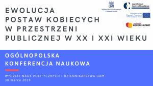 Ewolucja postaw kobiecych w przestrzeni publicznej w XX i XXI wieku i Wielkopolski Kongres Kobiet