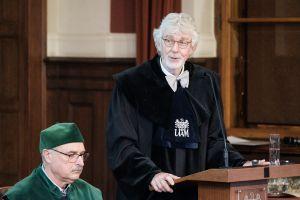 Doktorat honoris causa dla prof. Reinharda Lührmanna