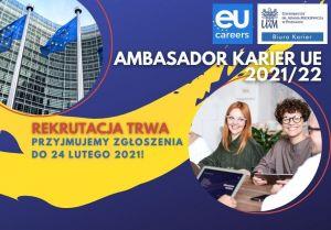 Zostań Studenckim Ambasadorem Karier UE