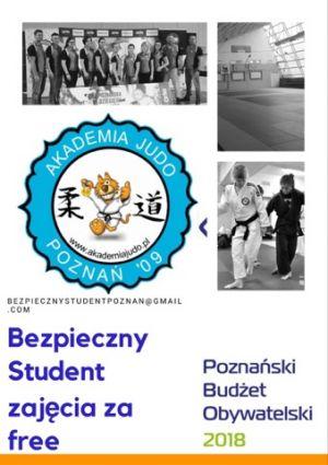 Bezpłatne zajęcia Judo dla studentów w ramach projektu